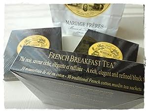 Mariage Frères - FRENCH BREAKFAST - Boîte de 30 sachets mousseline de thé