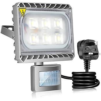 Gosun LED Motion Sensor Flood Light , 30W Outdoor LED Floodlights,  Waterproof IP65, 250W