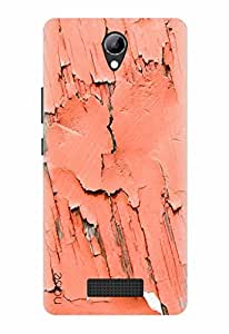 Noise Designer Printed Case / Cover for Lyf Wind 3 / Graffiti & Illustrations / Rusted Wall Design