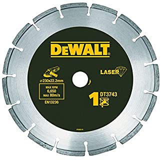 Dewalt DT3766-XJ – Disco de diamante 230mm corte de materiales duros y granito-cantero 10 mm