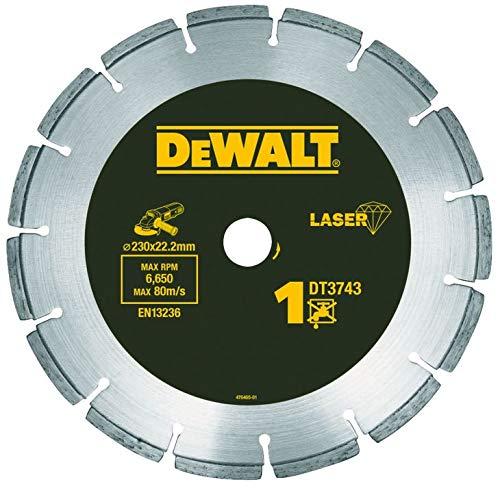 Dewalt DT3766-XJ Diamanttrennscheibe 230 Beton/Granit LASER HP (Hewlett Diamant)