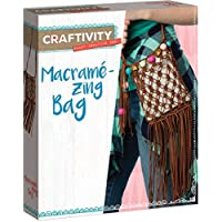 Creativity for Kids 3504 Macrame Zing Bag Craftivity Kit