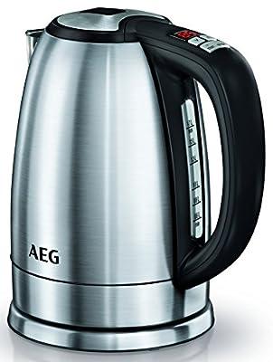 AEG EWA7700 Bouilloire, 1,7 L, 2400 W, acier inoxydable