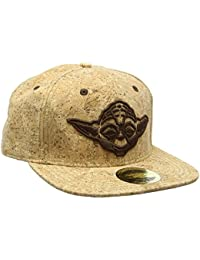 Snap Back Baseball Cap Yoda Cork- STAR WARS