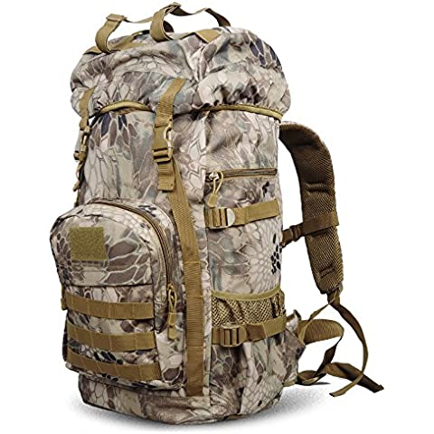 Outdoor Tactical Assault zaino zaino zaino escursionismo zaino 60*35*24cm