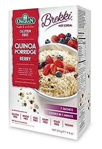 Orgran Free From Quinoa Berry Porridge Sachets 210 g (Pack of 4)