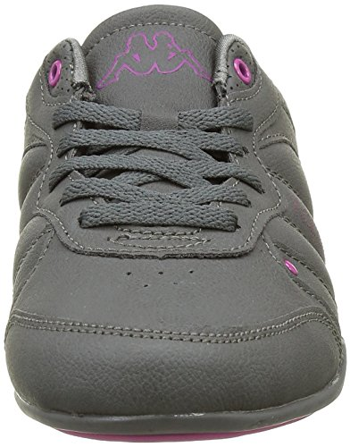 Kappa Talia, Baskets Basses Femme Gris (915 Dk Grey/Fushia)