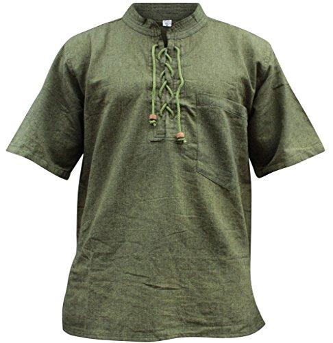 SHOPOHOLIC FASHION - Chemise casual - Homme green