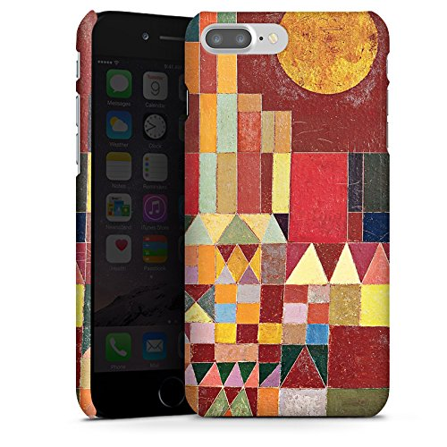 Apple iPhone X Silikon Hülle Case Schutzhülle Paul Klee Castle and Sun Kunst Premium Case glänzend