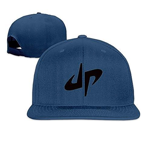 Hittings Male/Female DP Dude Perfect Logo Cotton Flat Snapback Baseball