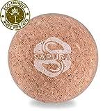 SAPURA Faszienball Kork + EBOOK ✓ Lacrosse Ball ✓ Naturmaterial ✓ Triggerpunkt Ball ✓ Hautfreundlich ✓ Massageball Roller ✓ Faszienkugel ✓ Trigger Ball