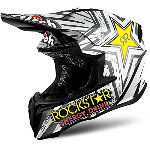 Airoh - casco moto cross airoh twist rockstar matt twrk11 - catw10f - xxl