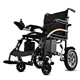 Electrical Wheelchair,Foldable Electrical Wheelchair & Elder People Power Chair,Light Weigt 40Lbs,Convenient For Home And Outdoor Use (Black)