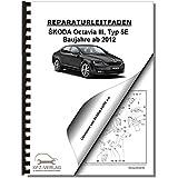 SKODA Octavia III 5E (12>) Heizung, Belüftung, Klimaanlage - Reparaturanleitung