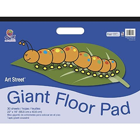 Art Street Giant Floor Pad with Handle for Doodling/Painting and