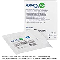 AQUACEL Ag + Extra silber hydrofaser-Wundauflage 15cm x 15cm x115,2x 15,2cm 413568 preisvergleich bei billige-tabletten.eu