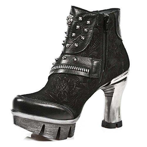 New Rock Neopunk Schwarz Stiefel M.NEOPUNK001-S1 BLACK, BLACK