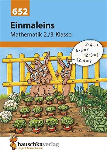 Preisvergleich Produktbild Einmaleins Mathematik 2./3. Klasse
