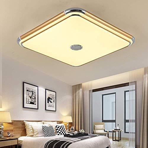 LCTCXD Luces de techo LED cuadrado de música, aleación de aluminio del...