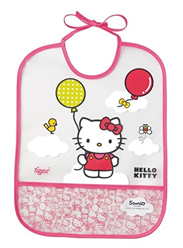 Tigex Eva - Babero con diseño Hello Kitty