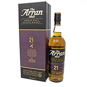 Arran 21 Year Old Single Malt Whisky from Arran