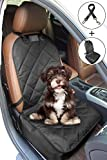 walsilk Wasserdicht Hund Front Bucket Seat Cover für Haustiere Sitz Displayschutzfolie rutschfeste Sitz Bezug, Single Passform für die meisten Autos, SUV, LKW