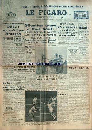 figaro-le-no-3819-du-17-12-1956-quelle-solution-pour-lalgerie-debat-de-politique-etrangere-succes-de