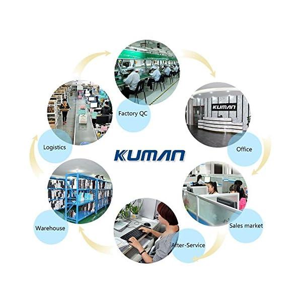 51LNCNQqmYL. SS600  - Kuman Robot Multifuncional de Control Remoto para Niños 2,4 GHz, Mini Robot Electrónico, 5 Modos de Funcionamiento, Baile, Boxeo, Conducir, Cargar, Detección de Gestos, Súper divertido Robot RC 1016A
