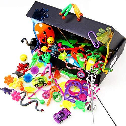 cke Kinder Geburtstagsfeierbevorzugung Spielzeug sortiment, kleine Geschenke Party Tasche füllstoffe Pinata Spielzeug für Kinder Mädchen Jungen ()