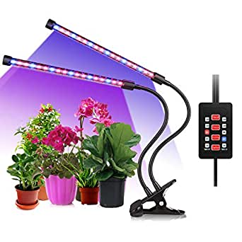 aliengt led pflanzenlampe uv lampe pflanzen grow lights 18w led lampe dimmbar f r pflanzen mit. Black Bedroom Furniture Sets. Home Design Ideas