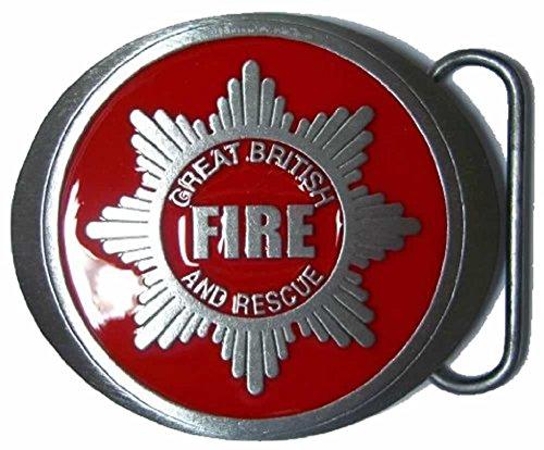 FIIRE FIGHTER Gürtelschnalle + - Firefighter Gürtelschnalle