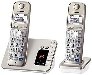 panasonic kx tge222gn senioren telefon elektronik. Black Bedroom Furniture Sets. Home Design Ideas