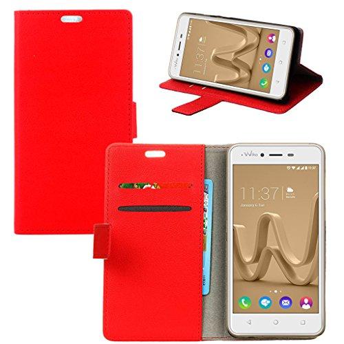 erdongr-flip-book-style-funda-para-wiko-jerry-max-50-cass-textura-rojo-cuero-billetera-y-ranuras-par