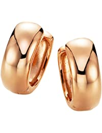Spirit - New York Damen-Creolen Silber vergoldet rhodiniert - 94007897