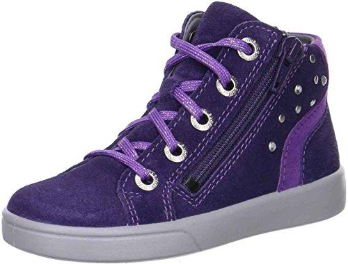Superfit Mädchen Marley Hohe Sneaker Violett (raisin KOMBI)