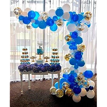 d317dfe5187e86 PartyWoo Ballon Bleu Blanc Or, 70 pcs 12 Pouces Ballon Bleu Marine, Ballons  Bleus, Ballon Bleu Ciel, Ballon Bleu Roi, Ballon Blanc, Ballon Confettis ...