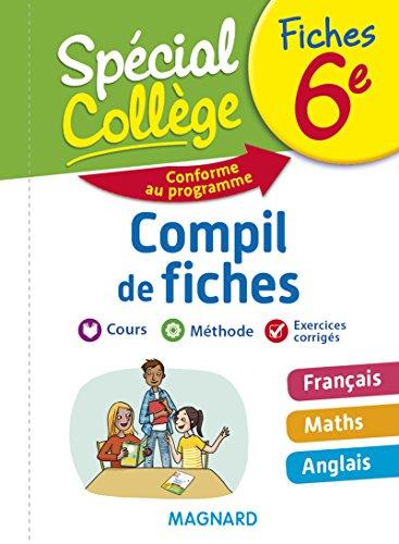 Spécial Collège - Compil de Fiches 6e