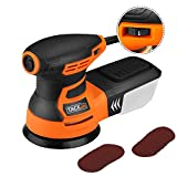Orbital Sander, Tacklife 350W 13000 RPM Sander with Dust Collection, 6 Variable Speed