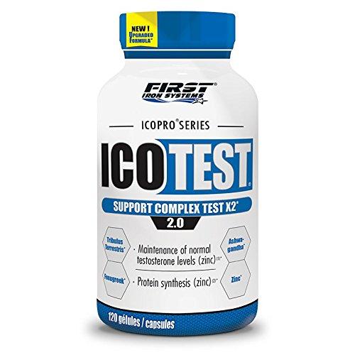 Icotest 2.0 120 gélules