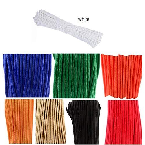 Corde d'escalade Corde à la maison de Mutil-use de 12 millimètres de diamètre, corde professionnelle d'aides s'élevantes, corde de haute résistance d'évasion extérieure de corde de rappel, 10 couleurs