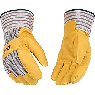 Kinco 1917-L-1 Pigskin Leather Palm Glove, 11.25