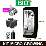 Kit Mini GrowBox Allestita - LED 40x40x120 BIO immagine