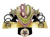 Second Nature 3D Grußkarte - Happy Birthday 80