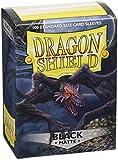 Dragon Shield Standard Sleeves (Matte Black)