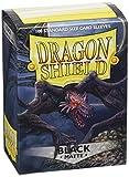 Arcane Tinmen AT-11002 - Sammelkartenspielzubehör - Dragon Shield Standard Kartenhüllen, 100 Stück, schwarz matt