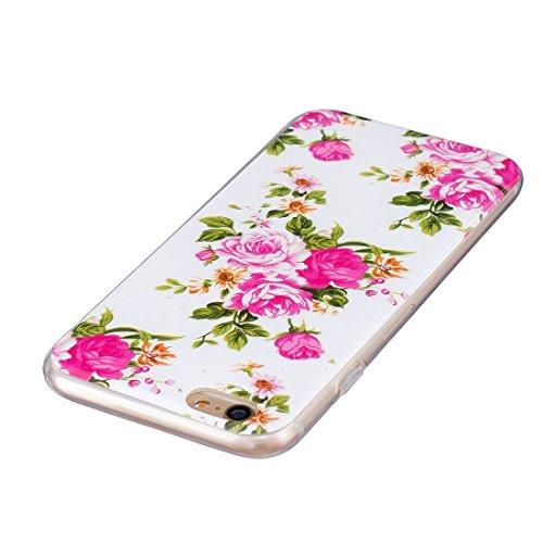 Phone case & Hülle Für iPhone 6 / 6s, Noctilucent Sika Deer Pattern IMD Kunstfertigkeit Soft TPU Back Cover Case ( SKU : Ip6g0130d ) Ip6g0130c
