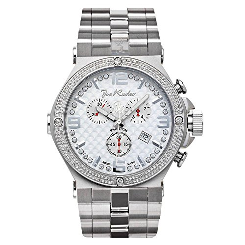 Joe Rodeo relojes del diamante fino Jojo Phantom 2.25Ct