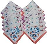 Ladies Handkerchiefs -12 Pcs - 29 CM X 2...