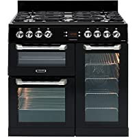 LEISURE CS90F530K Cuisinemaster Black 90cm Dual Fuel Range Cooker
