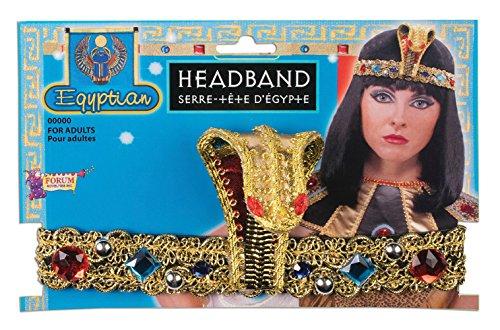 Forum Novelties X74261 Bristol Novelty 74261 Ägyptisches Stirnband, Mehrfarbig, Einheitsgröße (Tänzerin ägyptische Halloween-kostüm)